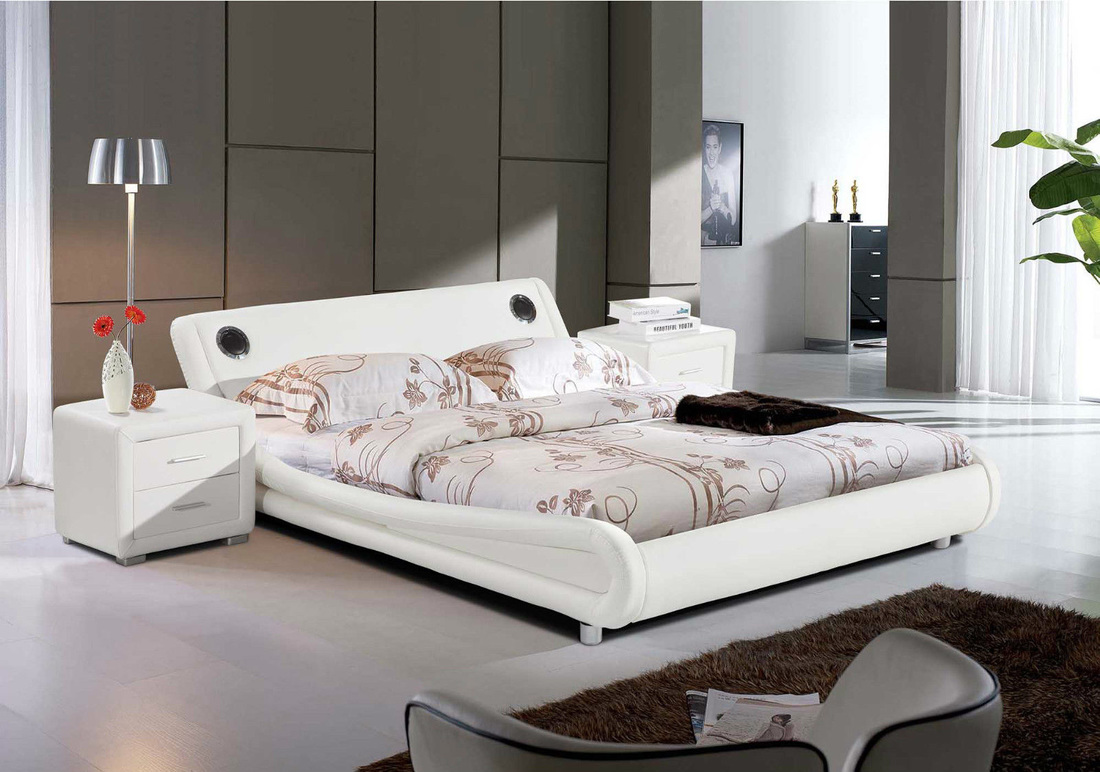 Madrid Bluetooth Bed Hi 5 Home Furniture