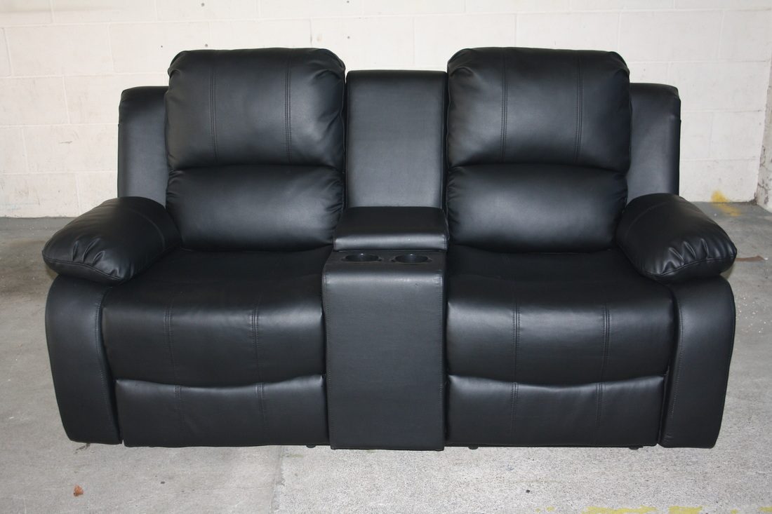 Miami recliner sofa hi 5 home furniture Loveseats with console
