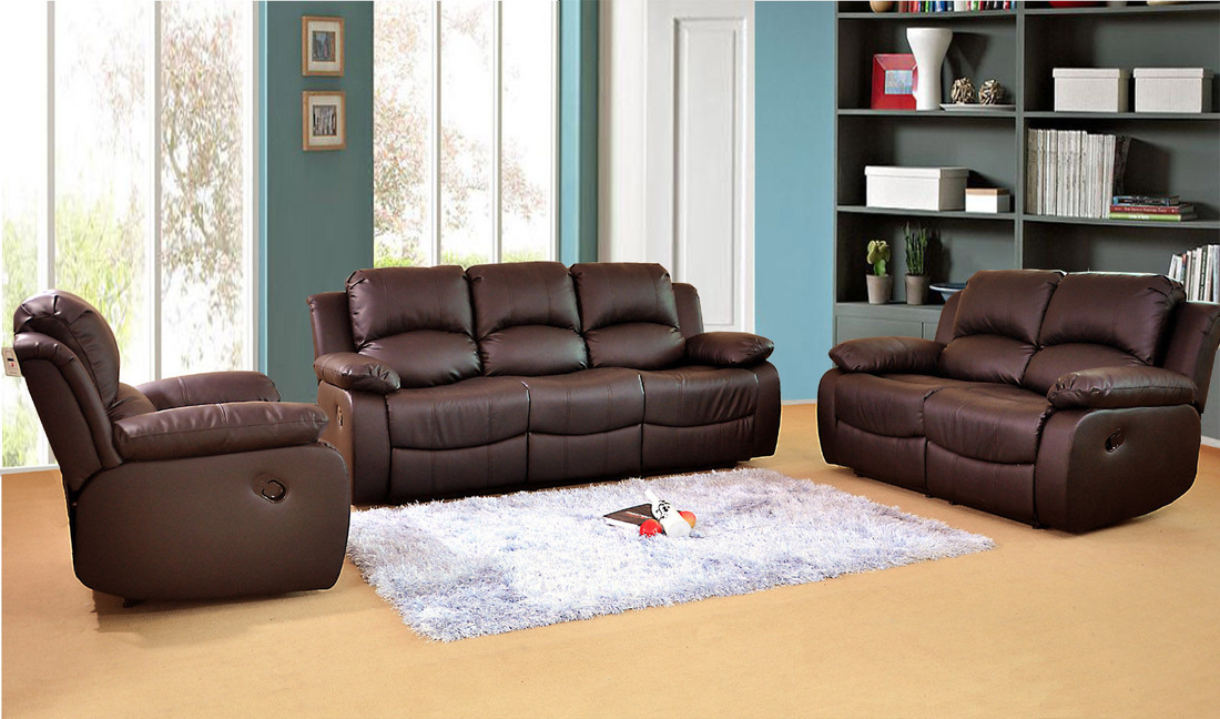 THE LUXURY MIAMI LEATHER RECLINER SOFA u0027NOW AVAILABLE IN ELECTRICu0027 & MIAMI RECLINER SOFA - HI 5 HOME FURNITURE islam-shia.org