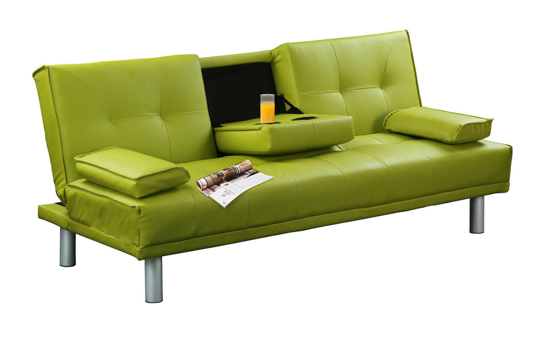 New york leather sofa bed hi 5 home furniture for Sofas in nyc