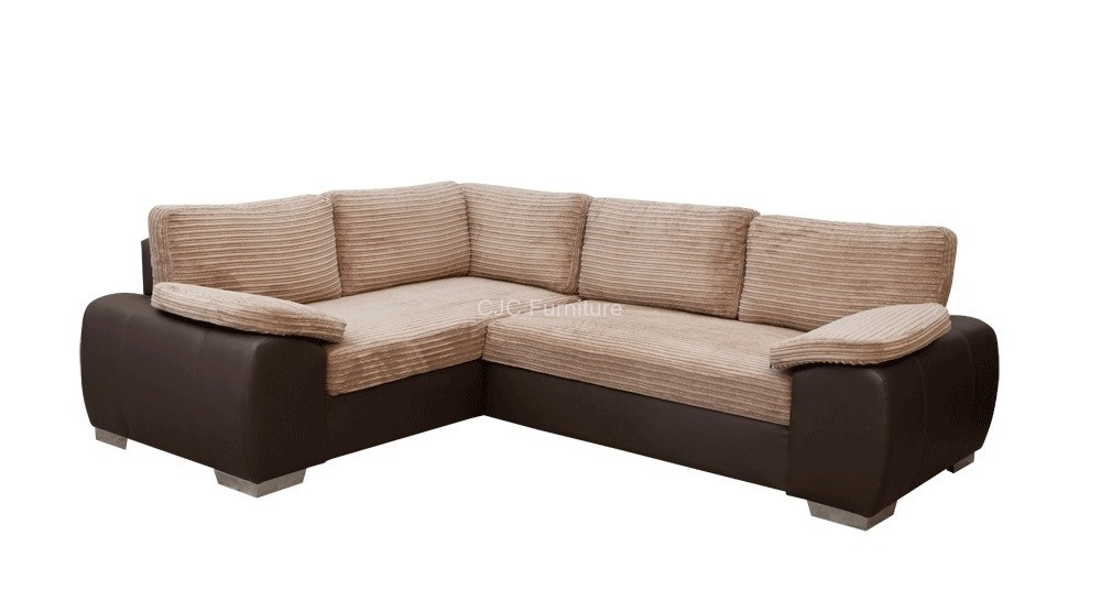 the luxury designer cassie jumbo cord fabric sofa bed